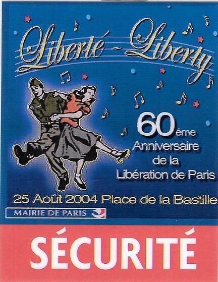 Sécurité 2004-60eme-anniversaire-de-la-liberation-de-paris