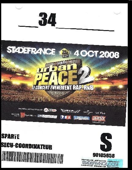 Sécurité stade de France 2008-urban-peace